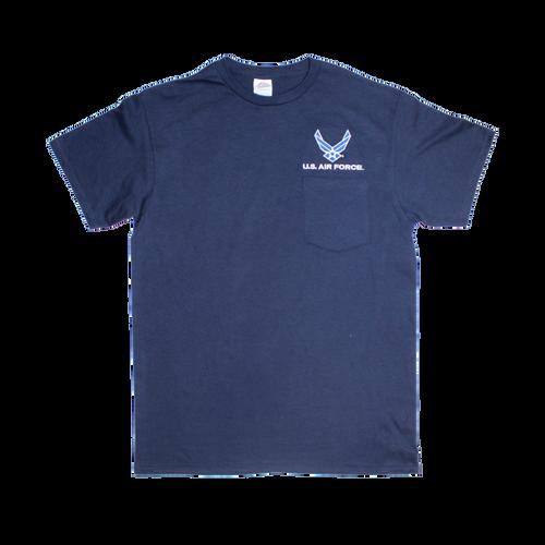 US Air Force Blue Pocket T-shirt