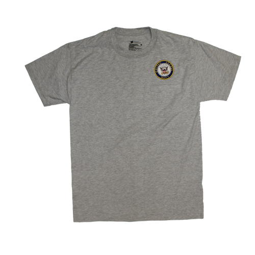 US Navy Gray Pocket T-shirt