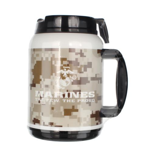 Made in the USA: US Marines 64oz Travel Mug