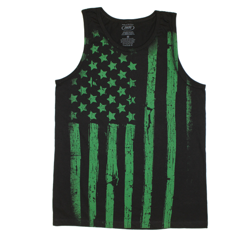 Made in the USA: US Army Flag Tank Top