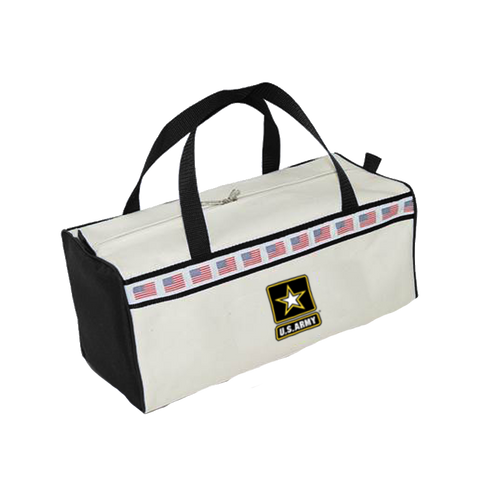 Made in the USA: US Army Flag Duffel Bag