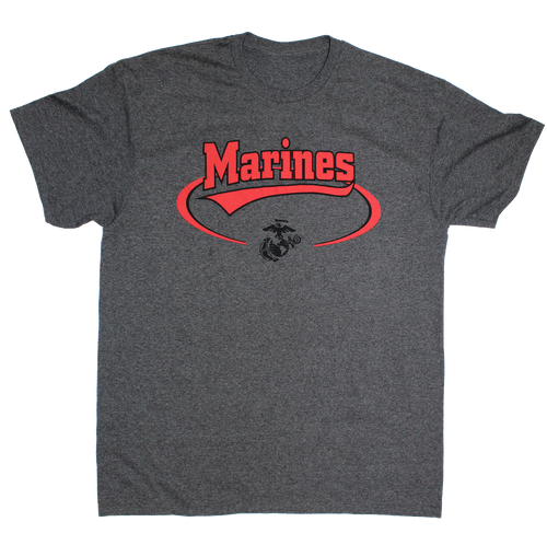 Made in the USA: US Marines Banner T-shirt