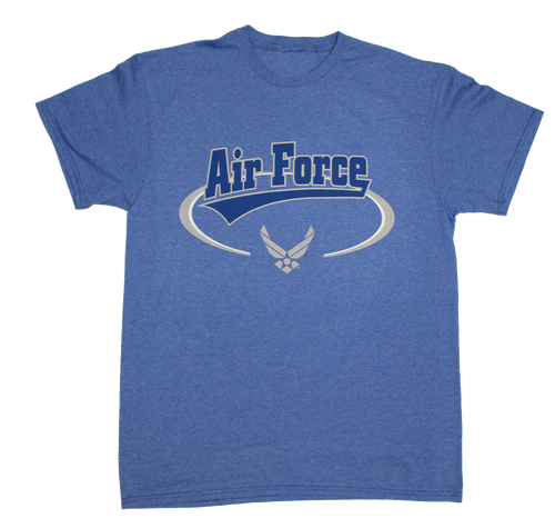 Made in the USA: US Air Force Banner T-shirt