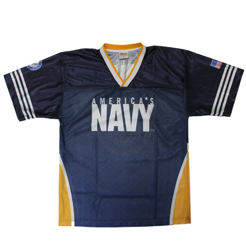 US Navy Sublimated Football Jersey