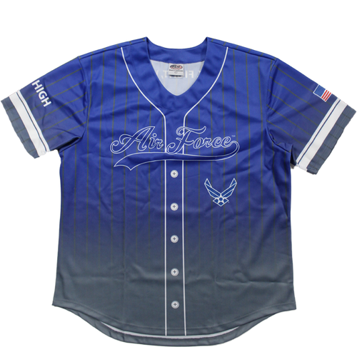 US Air Force Sublimated Baseball Jersey