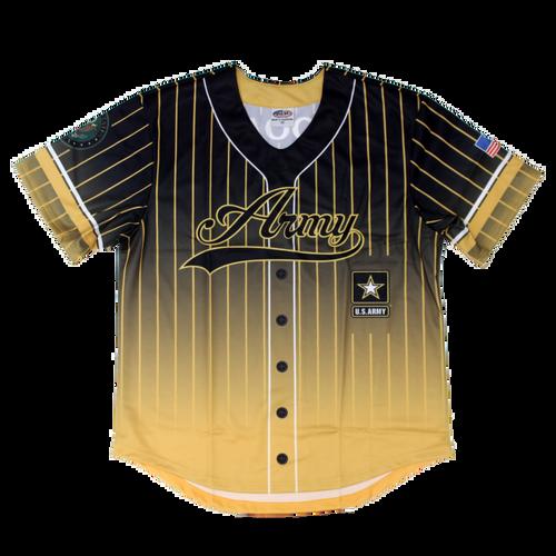 US Army Sublimated Baseball Jersey