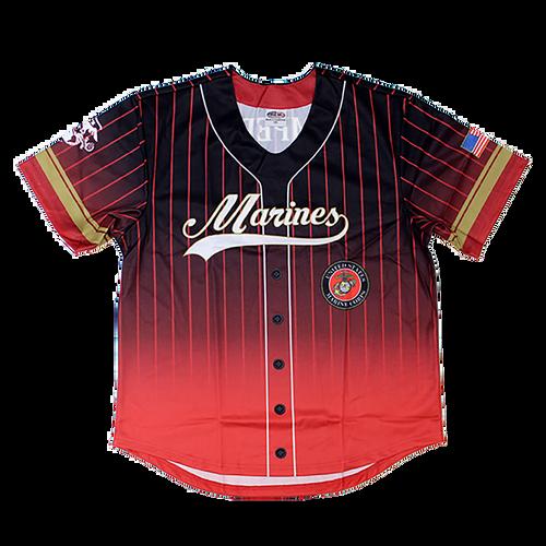 US Marines Sublimated Baseball Jersey