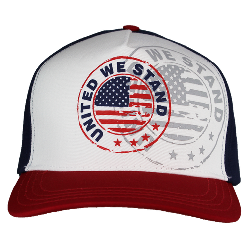 Made in the USA: United We Stand Screen Printed Cap