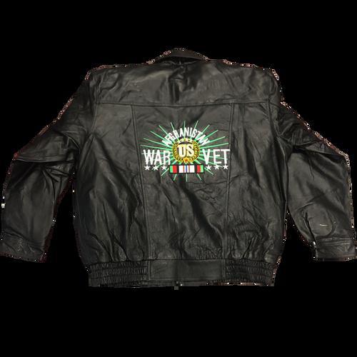 Afghanistan Veteran Leather Jacket