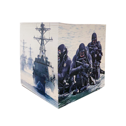 Made in the USA: US Navy Post-It Cube