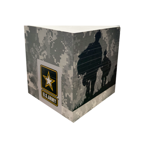 Made in the USA: US Army Post-It Cube