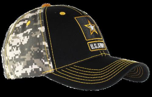 US Army Digital Camo Back Cap