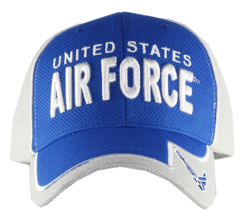 US Air Force Two Tone Performance Cap