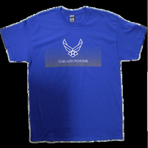 US Air Force Fading Dots T-shirt