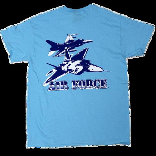 US Air Force Vehicle Back T-shirt