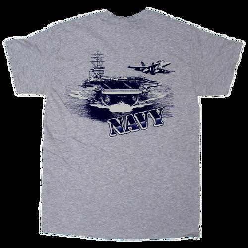 US Navy Vehicle Back T-shirt