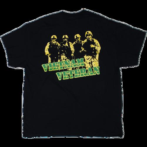 Vietnam Veteran Vehicle Back T-shirt