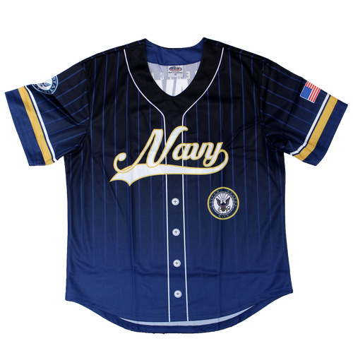 US Navy Sublimated Baseball Jersey