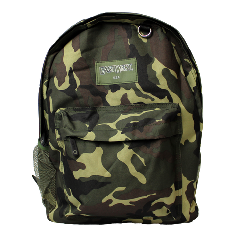 Made in the USA: East West Woodland Camouflage Backpack