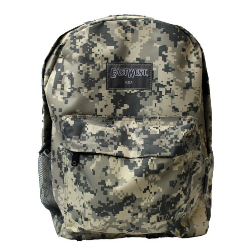 Made in the USA: East West Digital Camouflage Backpack