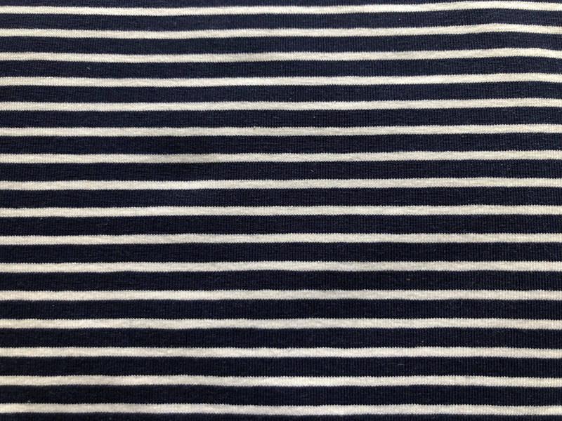 Navy White stripe