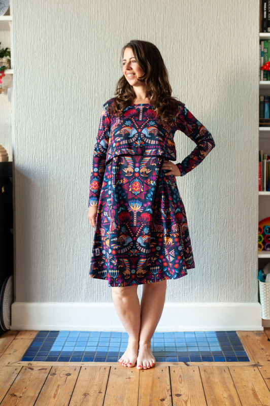 The Cristina Breastfeeding Dress