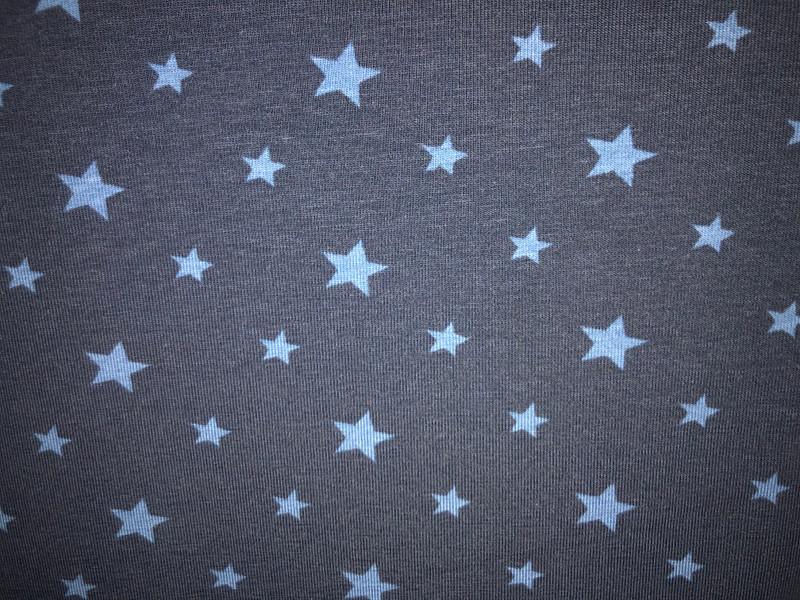 navy denim stars