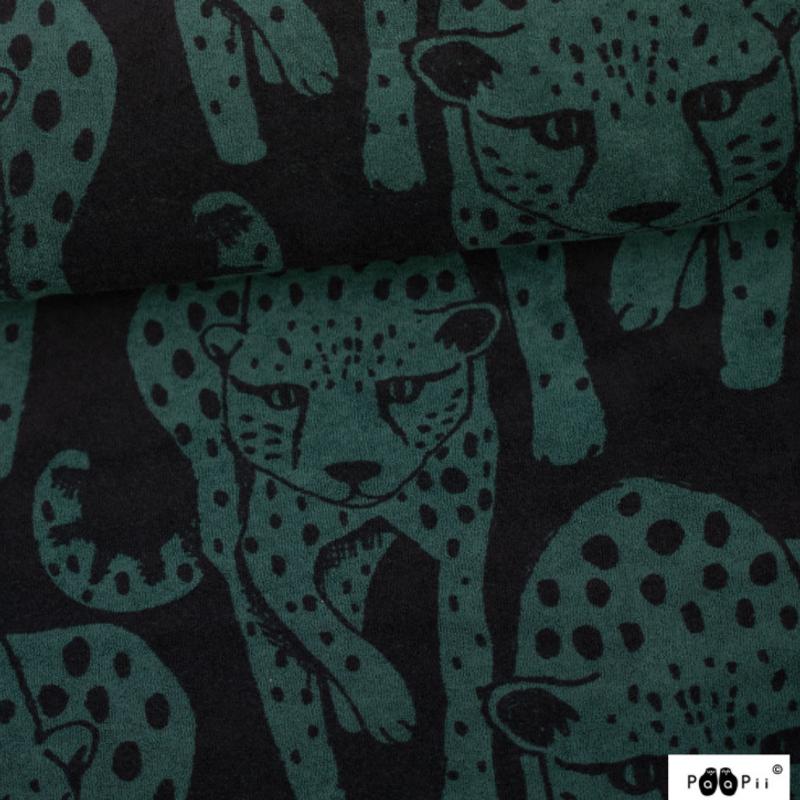 Cheetahs Green Stretch Terry