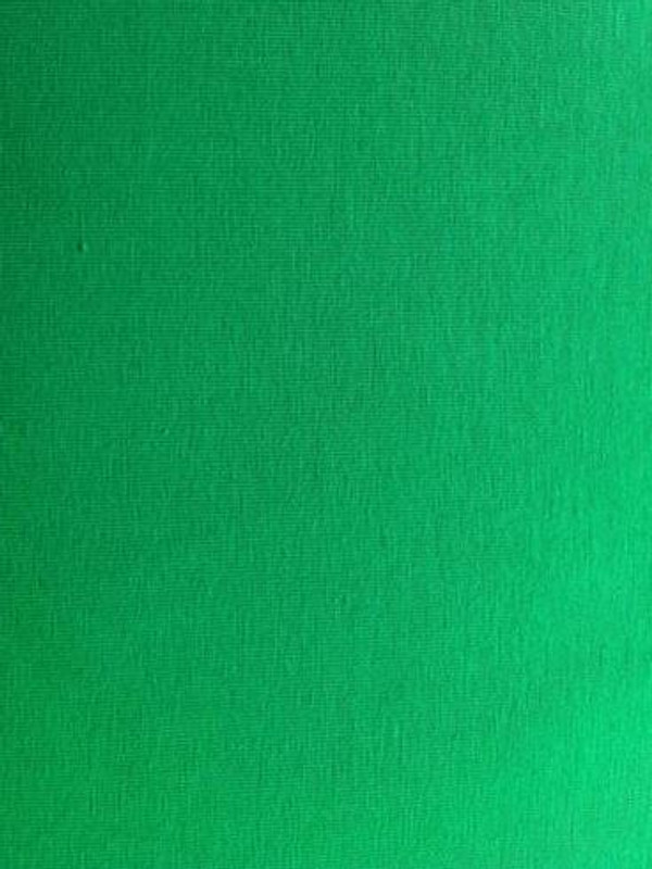 Bright green french terry