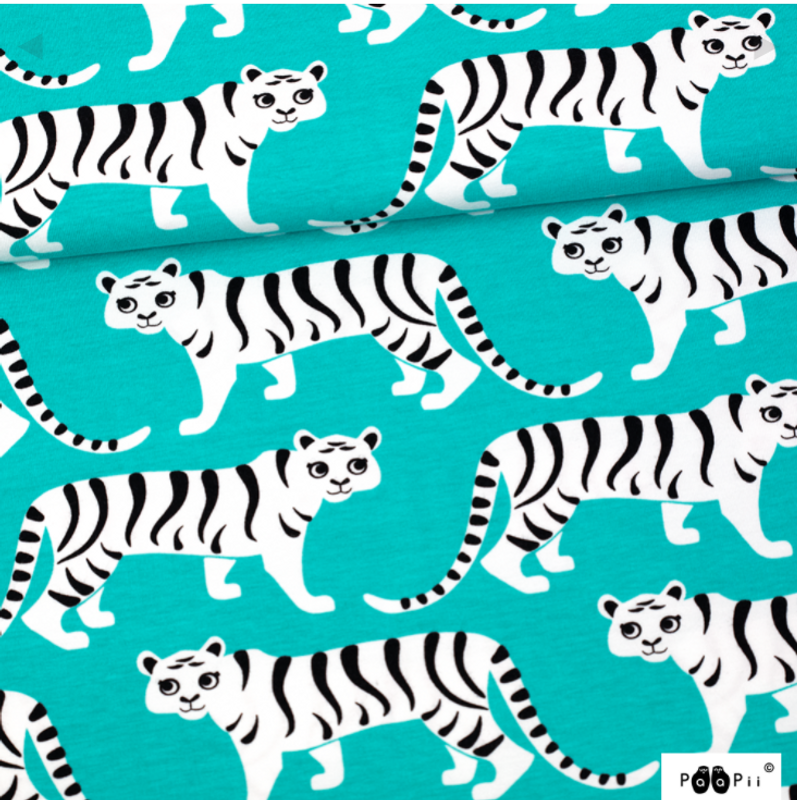 Tiger Parade Turquoise