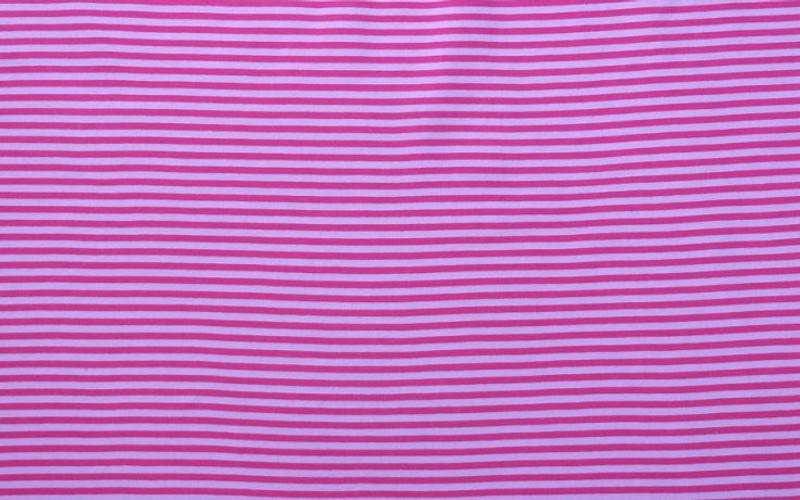 Pink/Raspberry Stripe Ribbing LS