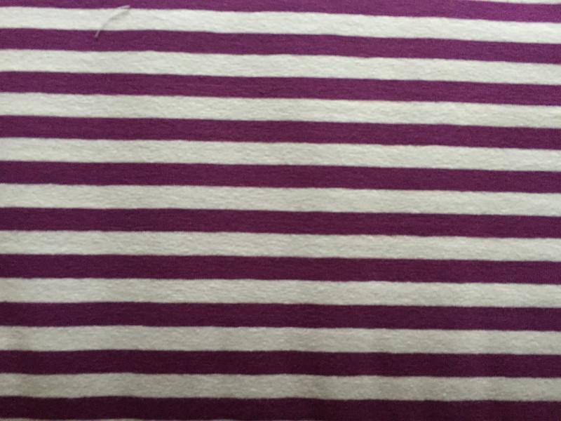 Purple/White Stripe