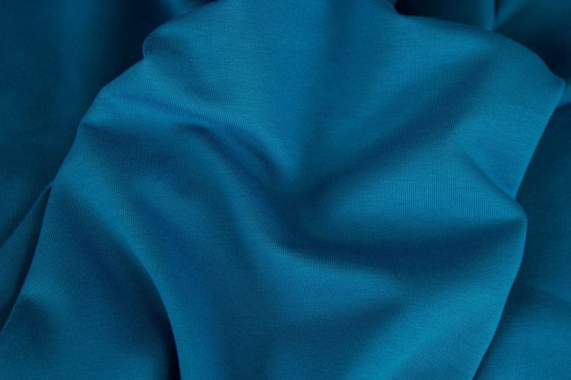 Turquoise Ribbing Swafing