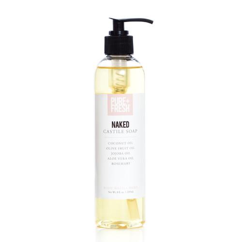 Castile Soap - Naked - 8oz