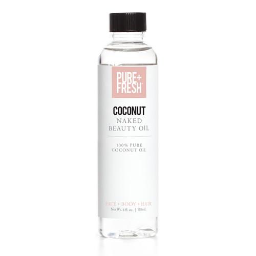 Pure+Fresh Naked Oil - Coconut Oil - 2oz