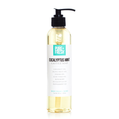Castile Soap - Eucalyptus Mint - 8oz
