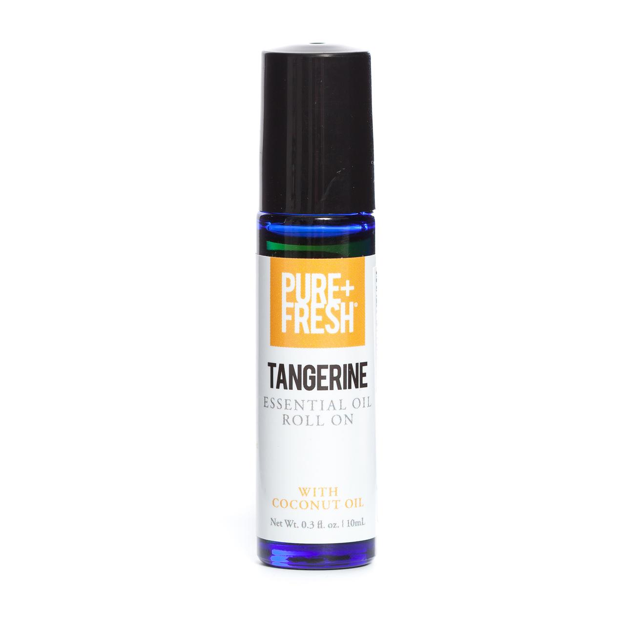 0.3 fl oz. Bottle of Pure+Fresh Tangerine Essential Oil Roll On