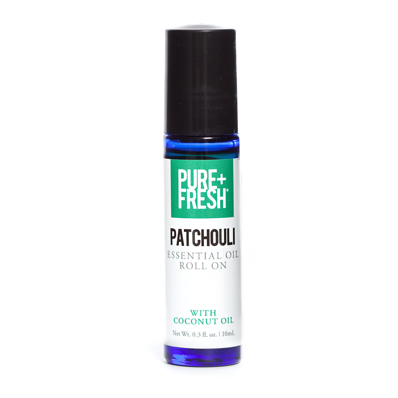0.3fl oz. Bottle of Pure+Fresh Patchouli Roll on Essential Oil