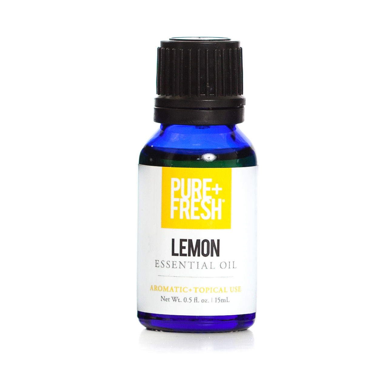 0.5fl oz. Bottle of Pure+Fresh Lemon Essential Oil