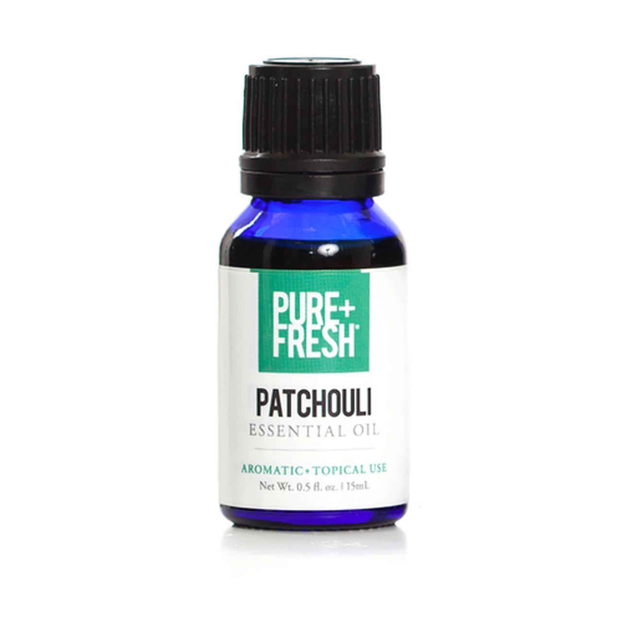 0.5fl oz. Bottle of Pure+Fresh Patchouli Essential Oil