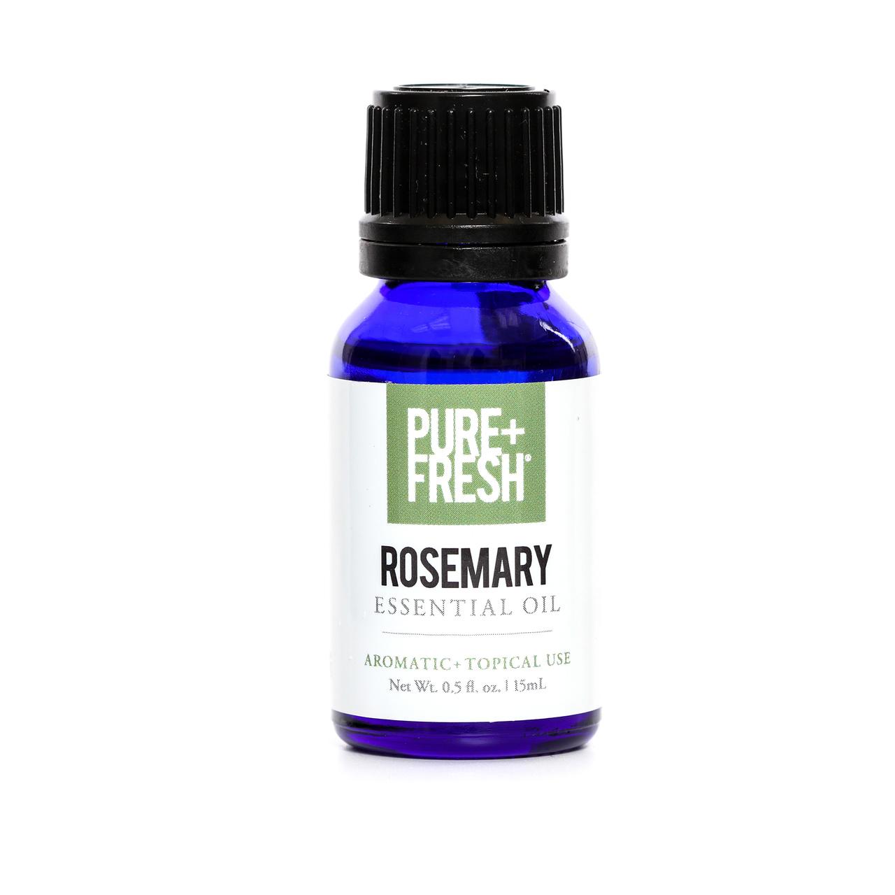 0.5fl oz. Bottle of Pure+Fresh Rosemary Essential Oil