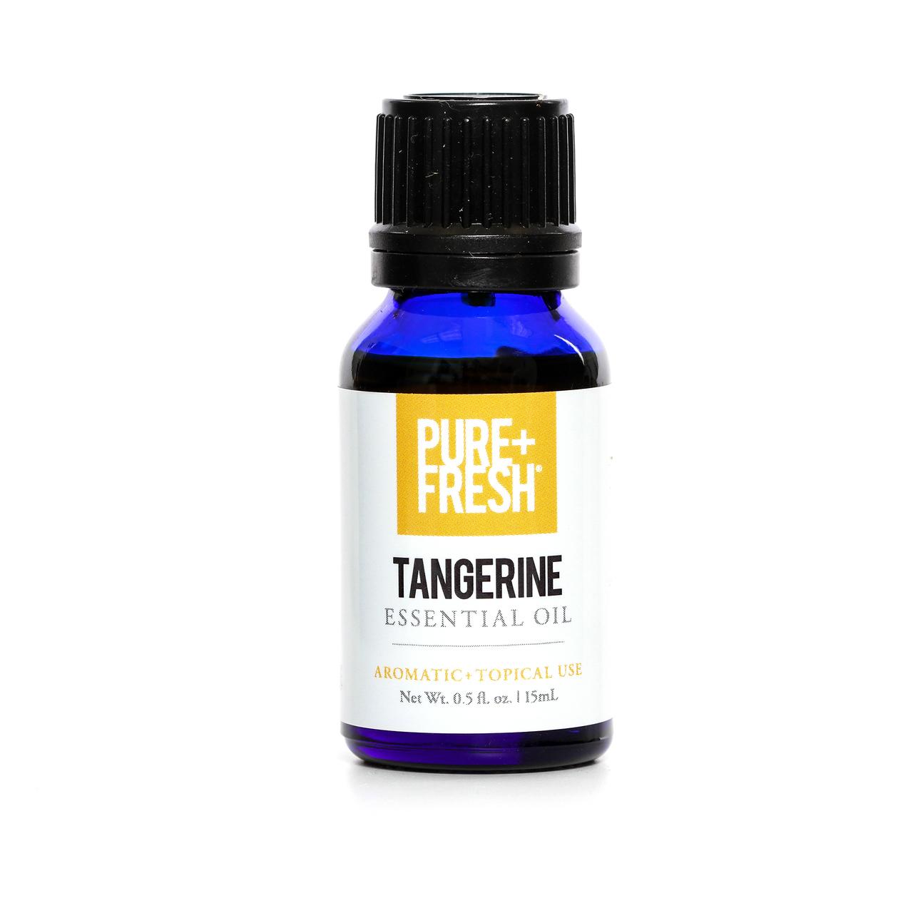 0.5fl oz. Bottle of Pure+Fresh Tangerine Essential Oil