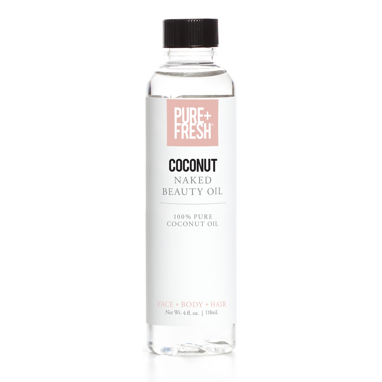 Pure+Fresh Naked Oil - Coconut Oil - 2oz