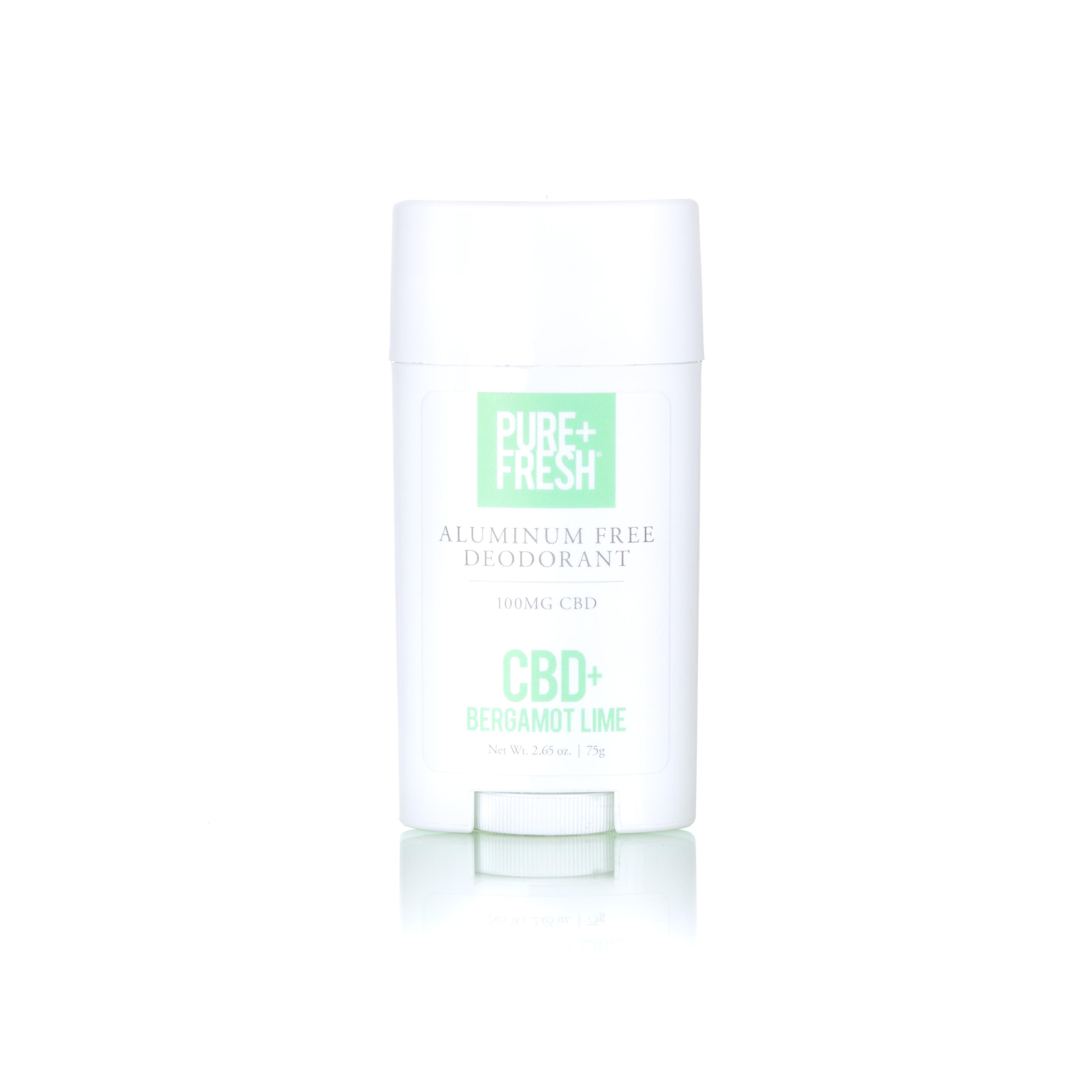 Aluminum-Free CBD Deodorant [Bergamot Lime]