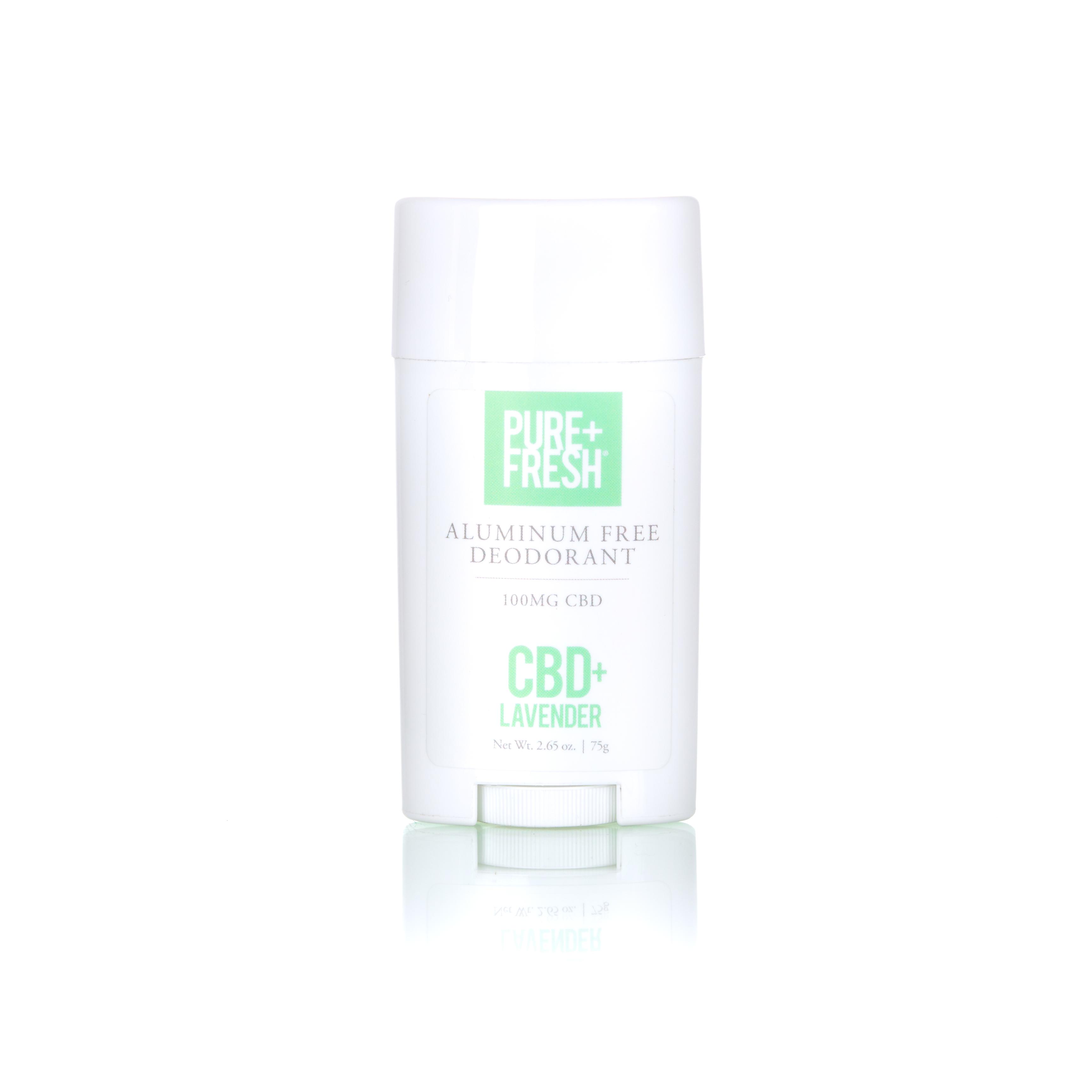 Aluminum-Free CBD Deodorant [Lavender]