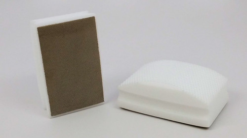 800 Grit Diamond Hand Pad - White