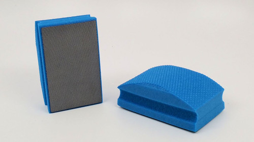 1800 Grit Diamond Hand Pad - Blue