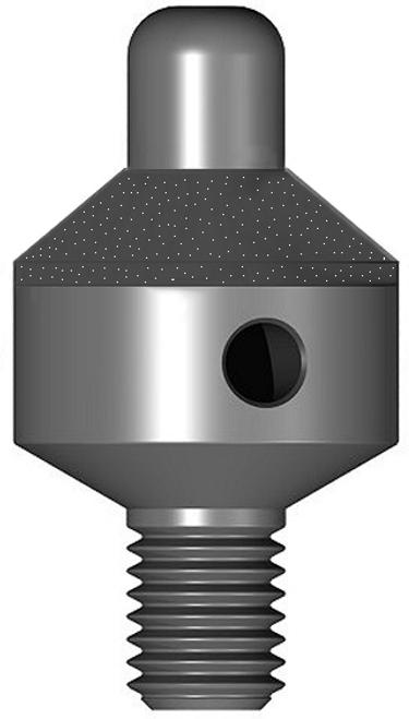 "100 Degree Diamond Countersink with 3/32"" integrated pilot - 1/2"" diameter X 1/4""-28 threaded shank; 40/50 grit diamond"