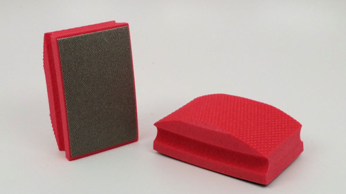 200 Grit Diamond Hand Pad - Red