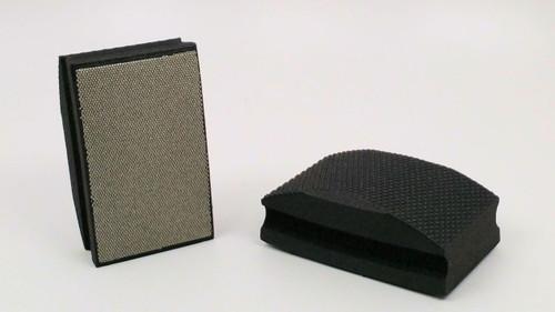 120 Grit Diamond Hand Pad - Black